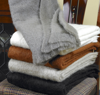 Luxurious Brushed Mohair Throws From South Africa And New