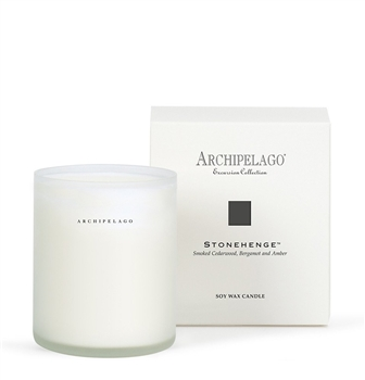 Archipelago Stonehenge Soy Candle in Glass Petoskey Ciao Bella