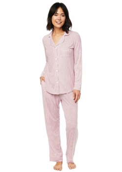 Ciao Bella Home Petoskey PJ Simple Stripe Red