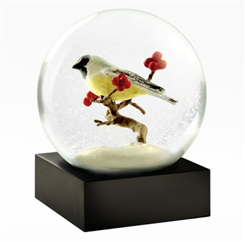 Chickadee Snow globe Ciao Bella Petoskey Michigan