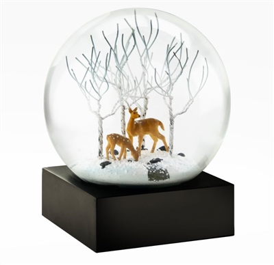 Deer In the Woods Snow globe Ciao Bella Petoskey Michigan