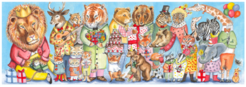 Gallery King's Party Puzzle 100pc.