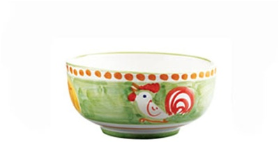 Gallina (Rooster) Cereal/Soup Bowl