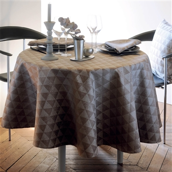 Garnier Thiebaut Mille Spirit- Naturel Tablecloth