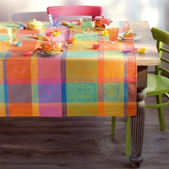 Garnier Thiebaut Mille Wax- Creole Tablecloth