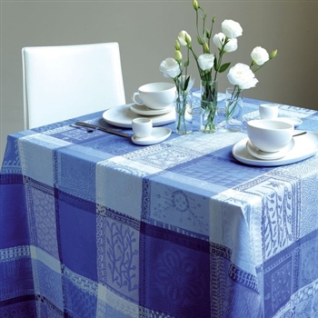 Garnier Thiebaut Mille Wax- Ocean   Tablecloth