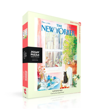 New Yorker Puzzle- Cat's Eye View