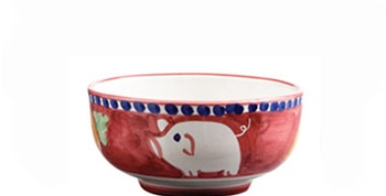 Porco (Pig) Cereal/Soup Bowl