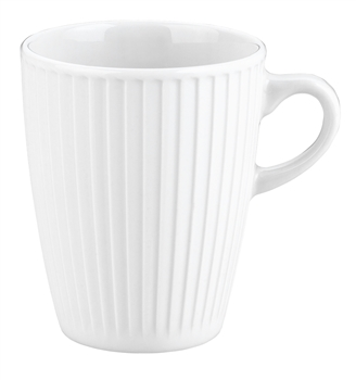 Pillivuyt Plisse Mug French Porcelain