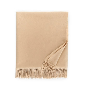 Ciao Bella Sferra Dorsey Cashmere Throw Almond
