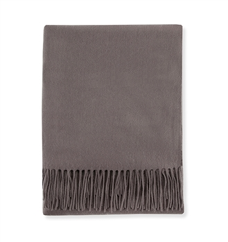 Ciao Bella Sferra Dorsey Cashmere Throw Grey