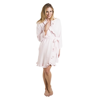 Ciao Bella Softies Pink Ruffle Robe Petoskey Michigan