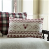 Christmas Fair Isle Pillow Ciao Bella Petoskey