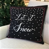 Merry Christmas Linen Pillow Ciao Bella Petoskey