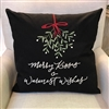 Christmas Kisses Pillow Ciao Bella Petoskey