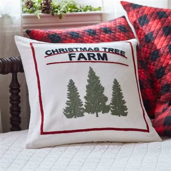 Christmas Tree Farm Pillow Ciao Bella Petoskey Mi