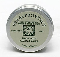 European Soaps LLC, shea butter shaving care, shave soap in a tin, 150 gr