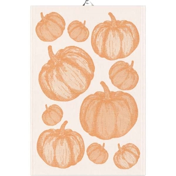 Pumpa, Ekelund Kitchen Tea Towels: Cotton, Cotton & Linen, fine Swedish Linens, best cotton and cotton/linen kitchen towels, washable Swedish linens, Ekelund Weavers since 1692, European cotton tea towels, finest woven kitchen and table linens.