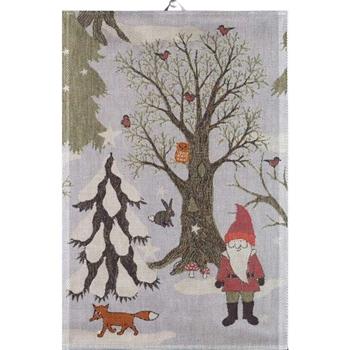 Ekelund Weavers Kitchen Towel Julpromenad