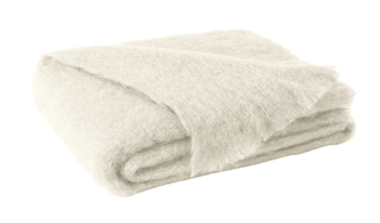 Ciao Bella Mohair Throw Cream