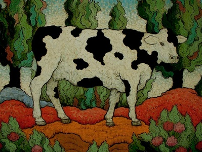 Cow (in Landscape)